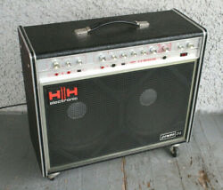 Vintage Hh Electronic V-s Musician Reverb Guitar Amp. Combo 212 Rare 1970's