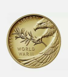 End Of World War Ii 75th Anniversary 24-karat Gold Coin [received In Hand]