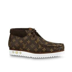 Louis Vuitton Nigo Human Made Size 8 Men's Shoes Ankle Boots Unused F/s From Jpn