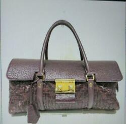 Louis Vuitton 20 Aw Monogram Volupte Bote Color Bordeaux Used Rare F/s From Jpn