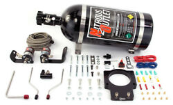 Nitrous Outlet 92mm Fast Intake 04-06 Gto Plate System 10lb Bottle
