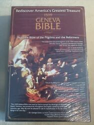 1599 Geneva Bible By Tolle Lege Press Black Bonded Leather Brand New Sealed Box