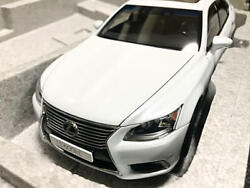 Lexus Ls600 Autoart 1/18 Scale White Pearl Serial Number Genuine F/s From Japan