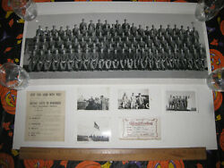 Wwii 774th Military Police Battalion Photo March Field Troopship Card Duty Sheet