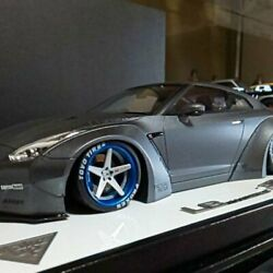 Lb Works R 35 Gtr 1/18 Scale Rare Out Of Print World Limited 50 F/s From Japan