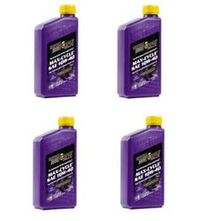 Royal Purple 4 Qt. Max Cycle Motorcycle 10w40 Synthetic Motor Oil Harley 01315