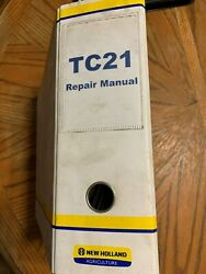 New Holland Tc18 Tc21 Tc21d Compact Tractors Repair Manual And Parts Catalog