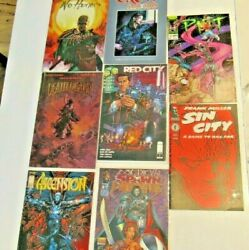 Mixed Lot Of 18 Mix Different Comic Books - Magazines - Books - Old /vintage