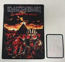 Large Iron Maiden Sew On Patch.band,back,merch,killers,brave,time,metal,nwob