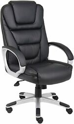 Boss Inchesntr Inches Executive Leatherplus Chair New