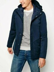 Jack Wills Marshall 2-in-1 Coat And Gilet Rrp Andpound149.99 Medium New With Tags Navyandnbsp