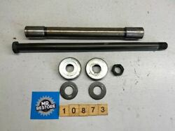Yamaha Yzf600r Fzr600 Swing Rear Arm Spindle Axle Bush Covers And Nut 47x-22184