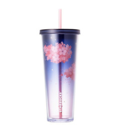 Starbucks Korea Cherry Blossom Gray Pink Cold Cup 710ml + Tracking Number