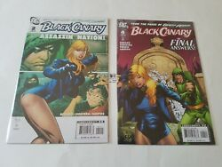 Black Canary - From The Pages Of Green Arrow 2 And 4 - Dc Comic Books
