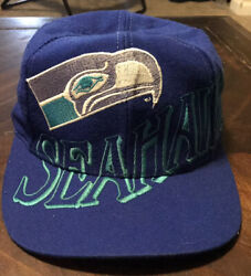 Vintage 1990's The Game Seattle Seahawks Hat Cap