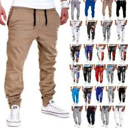 Menand039s Sport Pants Trousers Tracksuit Fitness Workout Jogger Sweatpants Bottoms