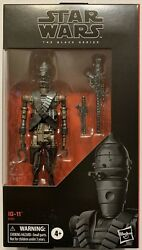 Hasbro Star Wars The Black Series Ig-11 6 Inch Droid Action Figure In Hand