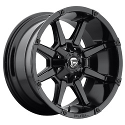 Fuel Coupler D575 20x10 -12 Gloss Black Wheel 5x114.3 5x127 Qty 5