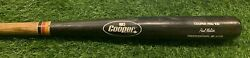 Paul Molitor Milwaukee Brewers Game Used Bat Psa Gu 9 Excellent Use