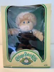 Rare Vintage 1984 England Cabbage Patch Doll New In Box Boy W/adoption Papers