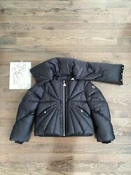 Moncler X Rick Owens Tonopah Cropped Puffer Down Jacket Size 1 Small