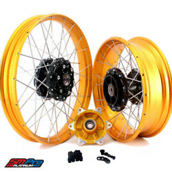 Complete Tubeless Wheels Set For Bmw F800gs Adventure 2008-2020 Front And Rear