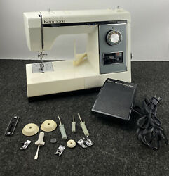 Vintage Sears Kenmore Portable Sewing Machine Model 158. 1789280 With Pedal