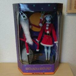 Nightmare Before Christmas Collection Doll Limited Edition Santa Jack And Sally Fs