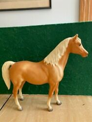 Breyer Traditional Horse quot;Hopequot; Family Arabian Mare Matte Palomino Lot 2