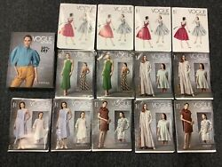 Vogue Sewing Patterns Lot Of 13+ Book 2020 New