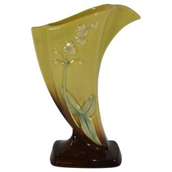 Roseville Pottery Wincraft Yellow Trial Glaze Vase 2fh-8