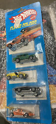 Hot Wheels Mega Rare France5 Pack Flying Colors, Employee Collection