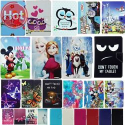Superhero Kids Cartoon Character Universal Stand Case Cover For Samsung 7 Inch