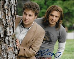 James Franco And039pineapple Expressand039 Saul Silver Signed 8x10 Picture Coa 1