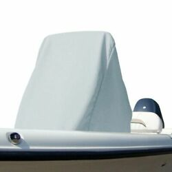 Carver 84003-10 Boat Center Console Universal Cover Large Haze Gray New