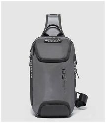 Men#x27;s Anti theft Chest Sling Bag Crossbody Backpack Shoulder Casual Daypack $35.99