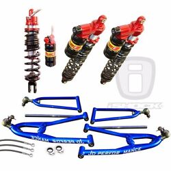 Elka Atv Legacy Front And Rear Shocks And Jd Performance A-arms Yamaha Raptor 700r