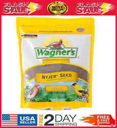 1 Wagner's, 62051 Nyjer Seed Bird Food, 5-pound Bag, The Favorite