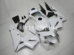 Solid Pearl White Abs Injection Fairing Kit Fit For 2003 2004 Cbr600rr F5