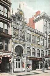 Providence Rhode Island Keithand039s Theatre Vintage Postcard Aa24866