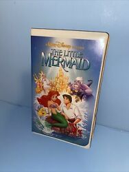 💎disney The Little Mermaid Vhs 1989 Diamond Edition 913 Vg Tested Working