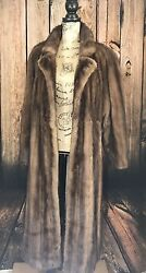 Deanfield London Exotic Vintage Collection 1986 Womenand039s Mink Fur Roma Coat And Hat