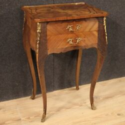 Side Table Furniture French Living Room Antique Style In Inlaid Wood