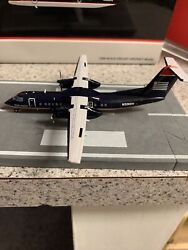 Jc Wings 1200 Scale Diecast Model Us Airways Bombardier Commercial Airliner