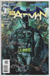 Signature Series Batman 1 New 52 Variant Signed By Artist