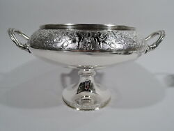 Gorham Compote - 1291 - Antique Classical - American Sterling Silver - 1876