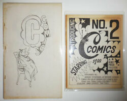 Ted Berrigan Barbara / C Comics 1 And 2 All Published First Edition 1965