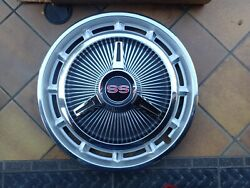 1965-70 Chevy Ss Wheel Covers, Set 4, 2 With Spinners, 2 W/o, Nos Nova Impala