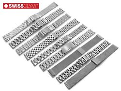 For Vacheron Constantin Stainless Steel Metal Watch Silver Strap Band Bracelet