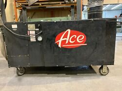 Ace Mobile Fume Extractor 73-601-95 1200cfm, 1hp, 120volt, 10' Arm, Local Pickup
